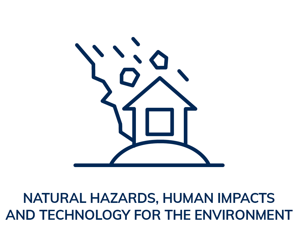 Natural hazards, human impacts and technology for the enviroment